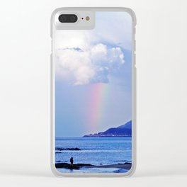 Love under the Rainbow Clear iPhone Case
