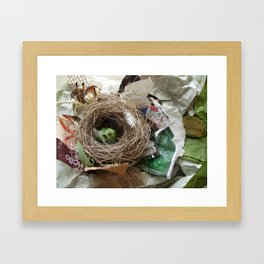 Urban Nests | 01 Framed Art Print