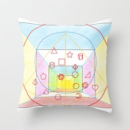 PowerLines 24 Throw Pillow