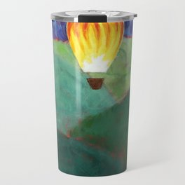 Too High to Riot - Bas - Acrylic Painting Travel Mug
