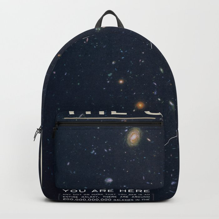 THE UNIVERSE - Space | Time | Stars | Galaxies | Science | Planets | Past | Love | Design Backpack