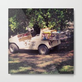 golf car Metal Print