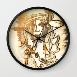 Croft Geisha Wall Clock
