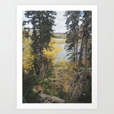 Duck Creek, Utah Art Print