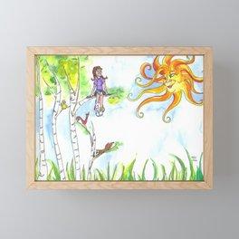 Under The Sun Framed Mini Art Print