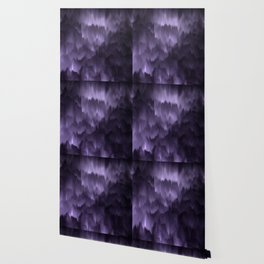 Purple and black. Abstract. Wallpaper