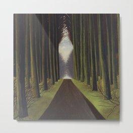 The Way through the Dark Forest by Leon Spilliaert Metal Print