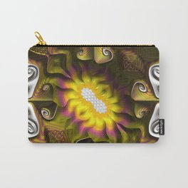 Gnarly Sunflower Carry-All Pouch