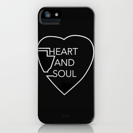 heart and soul - twin atlantic  iPhone Case