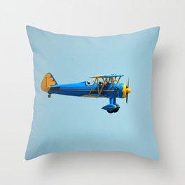 Vintage airplane 4 Throw Pillow