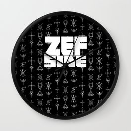 Zef Side Design Wall Clock