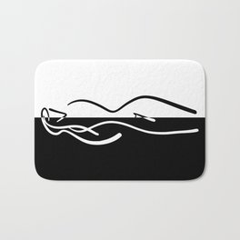 The Beauty ~ From Sinners And Saints ~ Pure Bath Mat