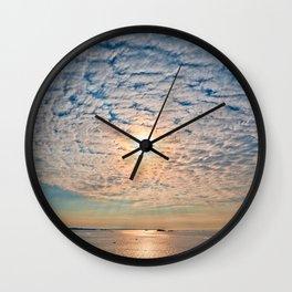 Saint-Malo Sunset Wall Clock