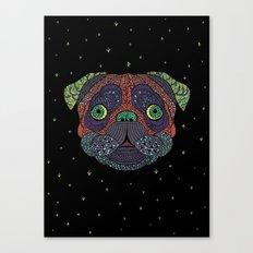 Intergalactic Dog Canvas Print