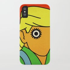 Orange Slim Case iPhone X
