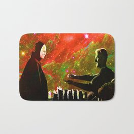 Playing chess with Death Bath Mat
