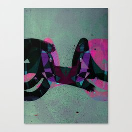 disquiet three Canvas Print