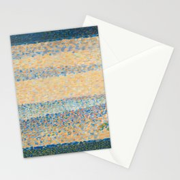 Georges Seurat - Seascape (Gravelines) Stationery Cards