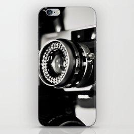 camera love b/w iPhone Skin