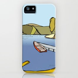 Silent Lake iPhone Case