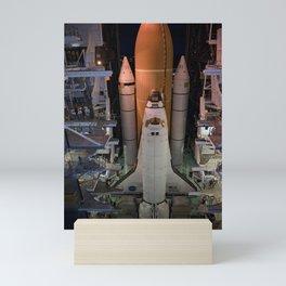 665. Space Shuttle Atlantis Mini Art Print