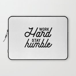 OFFICE WALL ART, Work Hard Stay Humble,Play Hard,Motivational Poster,Be Kind,Home Office Desk,Printa Laptop Sleeve