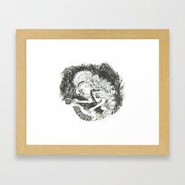 Drink me Alice Framed Art Print