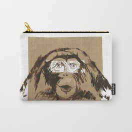 Emotional monkey Carry-All Pouch