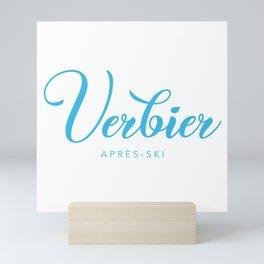 VERBIER Mini Art Print