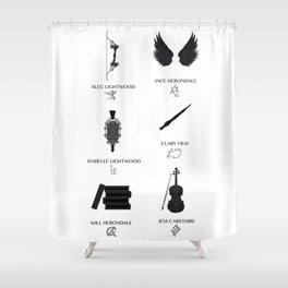 Nephilim Shower Curtain