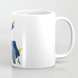 Lady on the Moon Coffee Mug