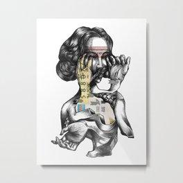 lottery girl Metal Print