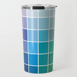 Colorful Soul - All colors together Travel Mug