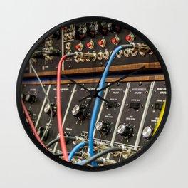 Modular synth 2 Wall Clock