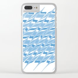 Watercolor sliding water texture effect 1 Clear iPhone Case