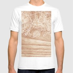 Sunny Cases III Mens Fitted Tee MEDIUM White
