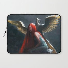 Red Falls Laptop Sleeve