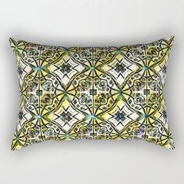Middle Eastern Tile Rectangular Pillow