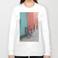 street Long Sleeve T-shirts featuring Street by Infra_milk