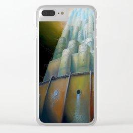 Midriasi Clear iPhone Case