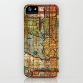 Antique World iPhone Case