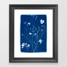 indigo 2 Framed Art Print