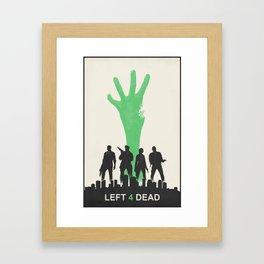 Left 4 Dead Framed Art Print