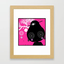 Mme Obasan Framed Art Print