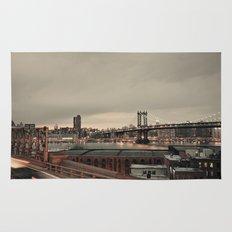 the city never sleeps:: nyc Rug