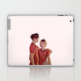 Nekoma Best Buddies (Kuroo & Kenma) Laptop & iPad Skin