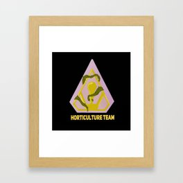 Horticulture Team Framed Art Print
