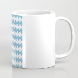 jaggered and staggered in dusk blue Coffee Mug