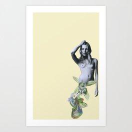 Fit Girl 007 Art Print