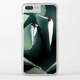 The Beautiful Mescal Agave Clear iPhone Case